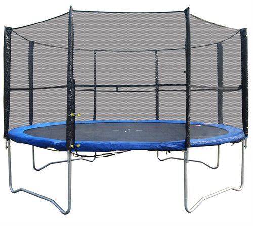 Woodworm 12ft Trampoline Safety Net Ladder Cover