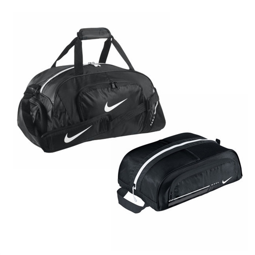 nike sports duffle bag nike sports shoe tote. Black Bedroom Furniture Sets. Home Design Ideas