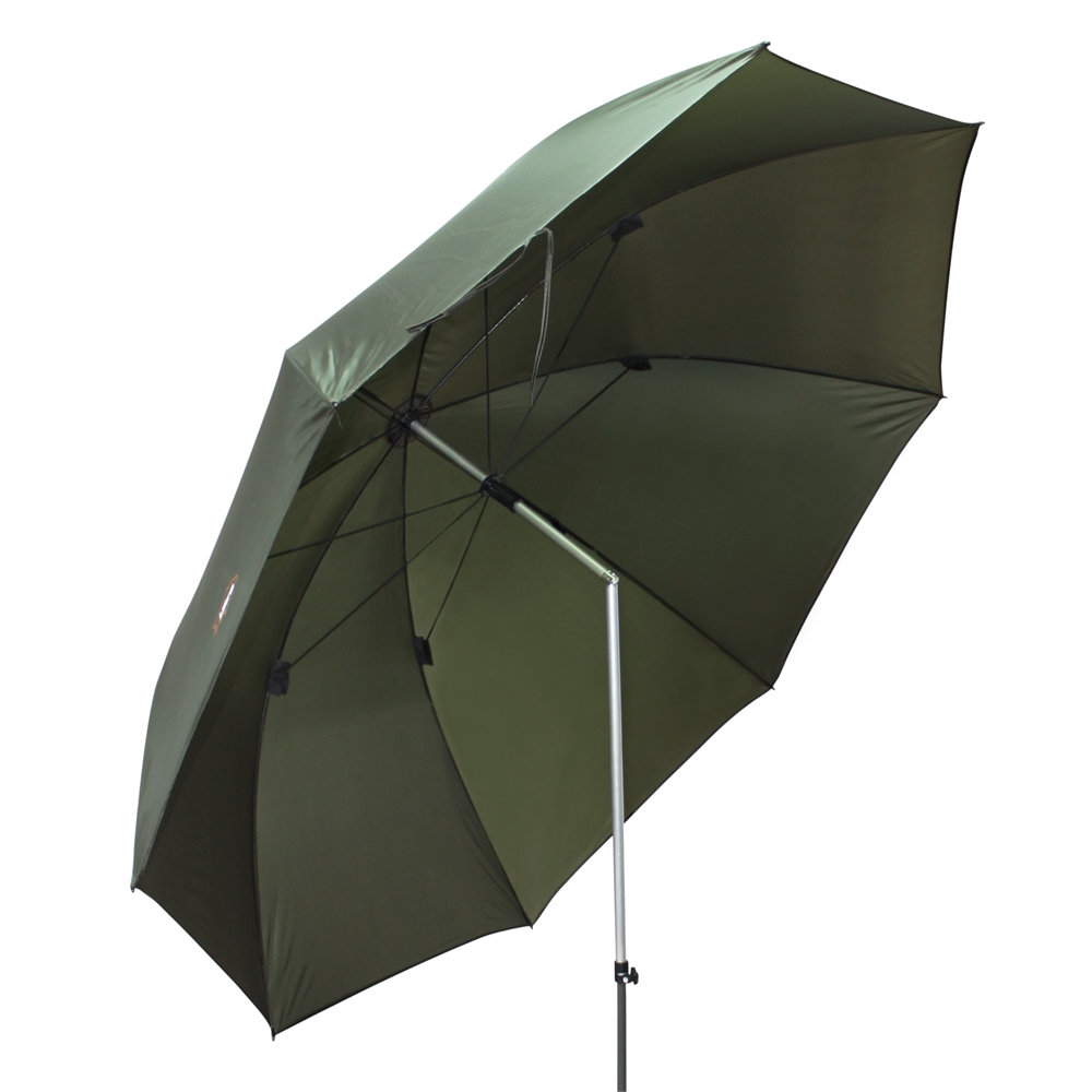 Ultra Fishing Tackle Angling 2.15m 85 Inch Umbrella W//O Zip Side Sea//Carp Brolly