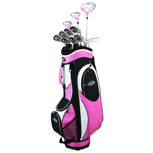 Golfgirl Fws2 Golf Clubs Package Set Bag Pink The